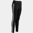 D2M 3-Stripes High Rise Tight, treningstights dame