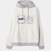 Rbn Hood W BRIGHT GREY MELANGE