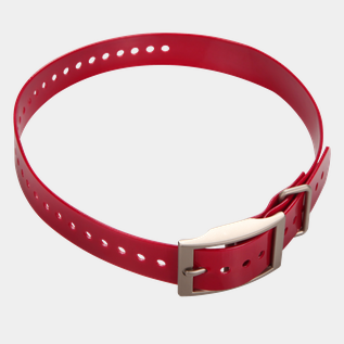 Collar strap for DC50 Red, halsbånd