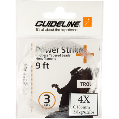 Power Strike 9' 3-pack 4x, fortom