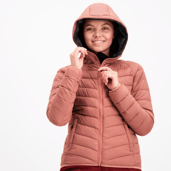 Twentyfour Vienna Bamboo Jacket, isolasjonsjakke dame Rosa