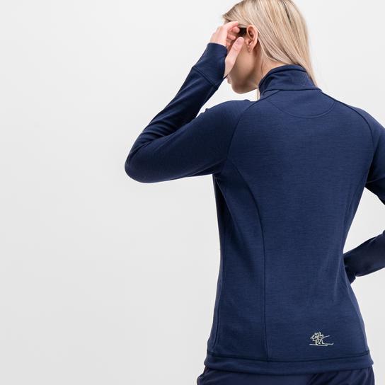 Bergans Romsdal Wool Jacket, ulljakke dame Dark Blue