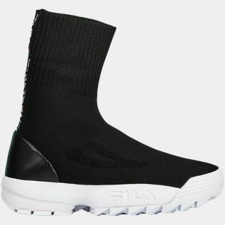 Fila Disruptor Sockboot, sneakers dame Svart Fritidssko dame | XXL