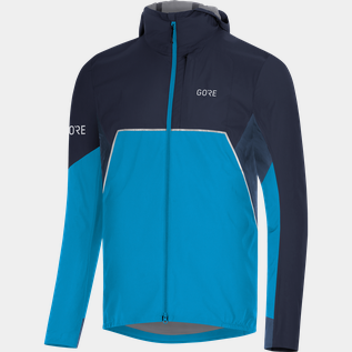 R7 Partial Gtx I Hooded Jacket Mns Dynamic Cyan/orbit B