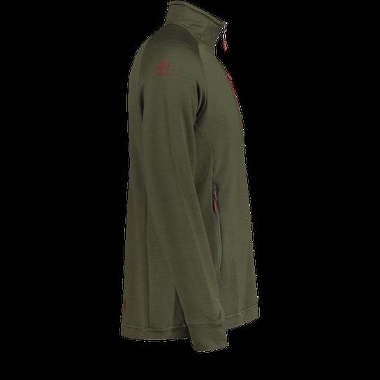 Bergans Romsdal Wool Jacket, ulljakke herre Rød