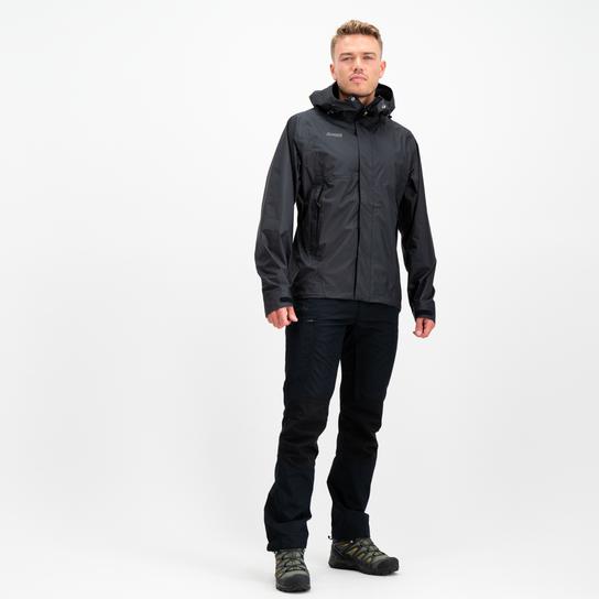 Bergans Super Lett Jacket, skalljakke herre Svart