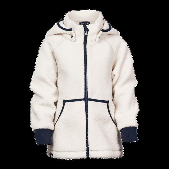 Neomondo Branas Teddy Fleece Jacket, fleecejakke barn Hvit