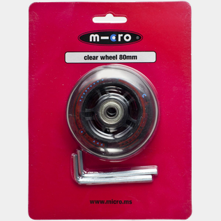 Micro wheel 80mm (Mini, Maxi), sparkesykkelhjul