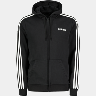 Essential 3-Stripes Full Zip, fleecejakke herre