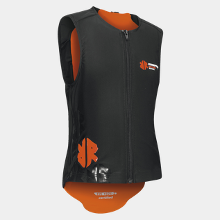 Kids ECO Vest Orange 19/20, ryggbeskyttelsesvest barn/junior