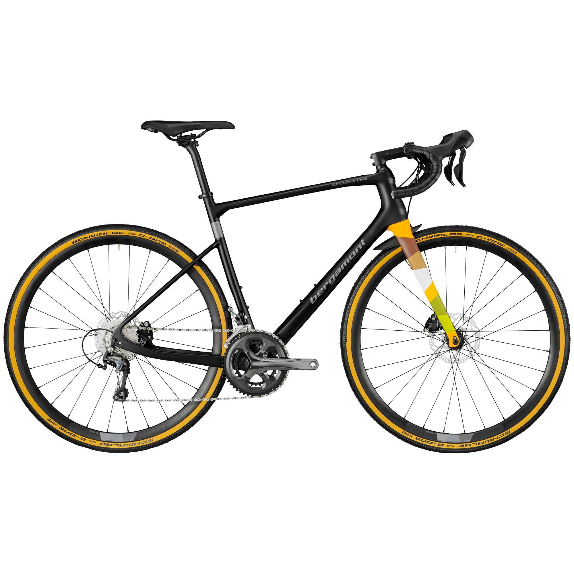 Bergamont Grandurance Expert, landeveis-/grussykkel herre XS/49