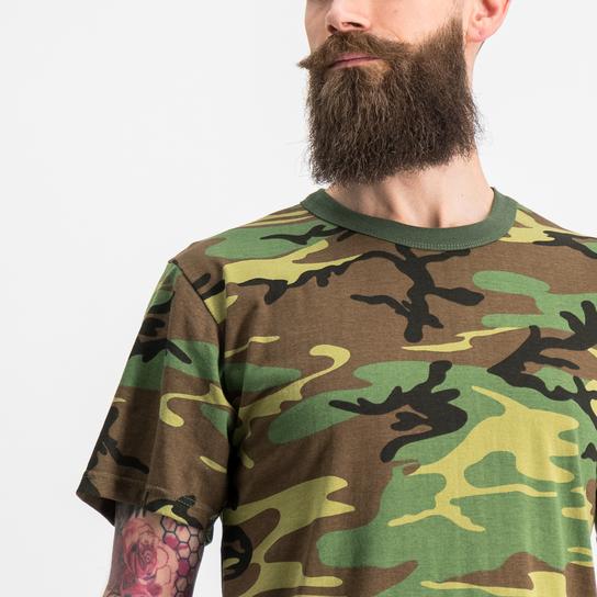 Phoxx Camo, t skjorte Grønn T shirts   XXL