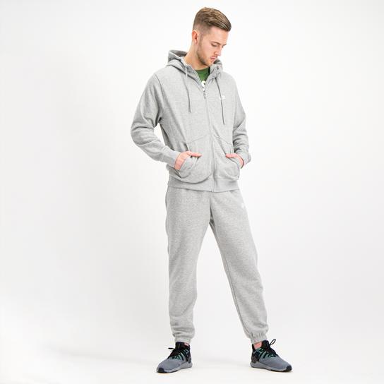 Nike Club Hoodie Full Zip, hettejakke herre Grå