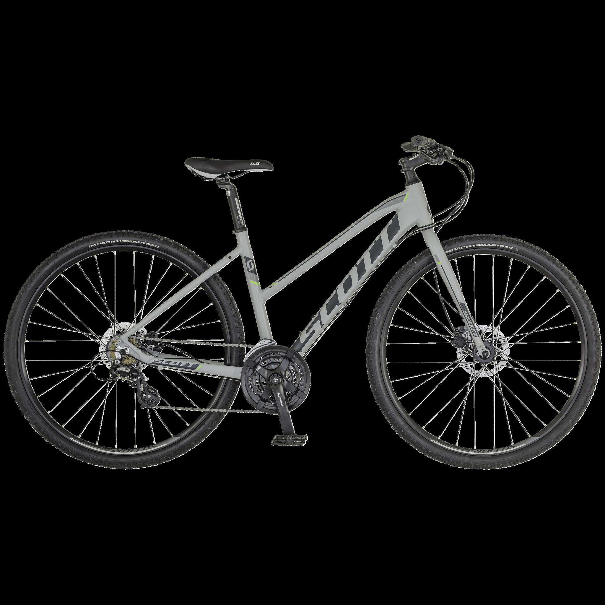Scott SUB Cross Tour HD 18, hybridsykkel dame S 16
