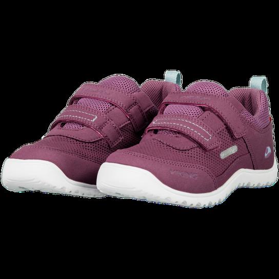 Viking Blast WP, fritidssko barn Purple Vanntette sko
