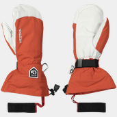 Army Leather Heli Ski Mitt, skivott