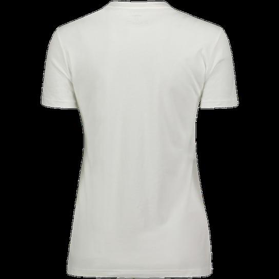 hvit stor skjorte dame rund krage