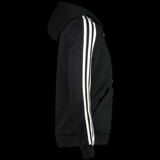 Essential 3 Stripes Full Zip Hoodie, hettejakke junior