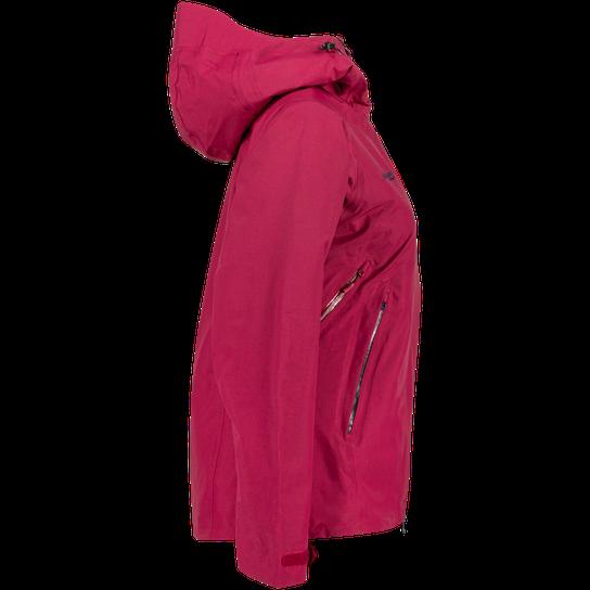 Bergans Haglebu Insulated Jacket , skijakke dame Rød Ski