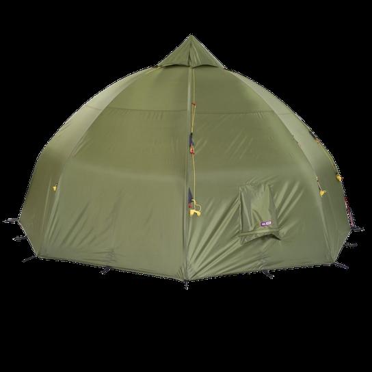 Helsport Varanger Dome 4 6 ytterduk+stang, telt Grønn